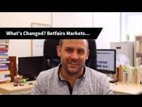 What's Changed? Impact on Betfairs Markets…