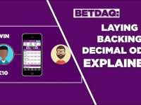 Laying Betting, Backing and Decimal Odds EXPLAINED (2018):