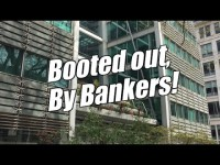 Booted out by bankers!