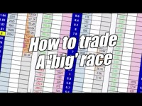 Peter Webb – Betfair trading – Trading a big race
