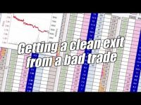 Peter Webb, Bet Angel – Exiting a trade that has gone wrong – Betfair trading