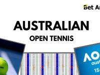 Betfair Tennis trading – Australian Open Tennis