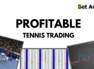Betfair Tennis trading – Profit graphs