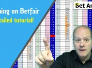 Peter Webb – Bet Angel – Scalping on Betfair explained – Full tutorial