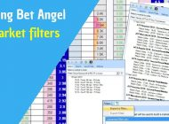 Betfair trading software – Bet Angel – Review of new filter tool