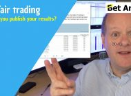 Should professional Betfair traders post their trading results?