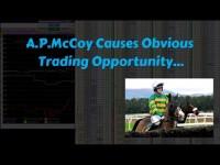 AP McCoy Betfair Trading Video – Obvious move & reason – Caan Berry