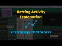 Betfair Trading Video – Tennis strategy and bet activity explanation