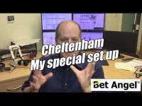 First day at Cheltenham & my special set-up