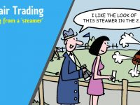 Betfair trading – Trading order flow by spotting a 'steamer'