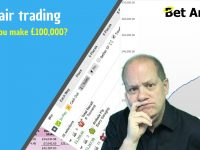 Betfair trading – Could you make £100,000 a year?