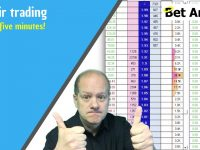 Betfair trading | Horse racing pre-off trade nets £330 in five minutes