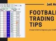 Football betting & Betfair trading tips | Lay the draw | Finding the perfect trade